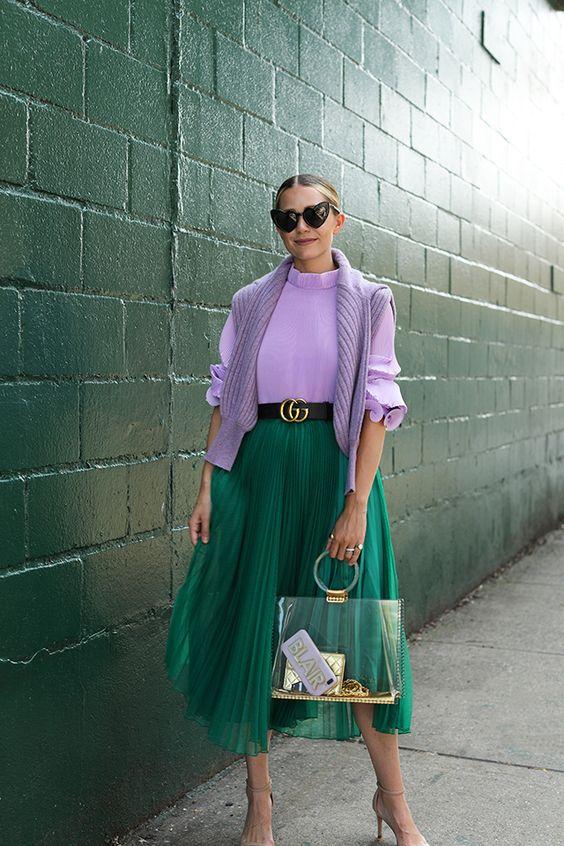 7 стильных цветовых сочетаний на лето